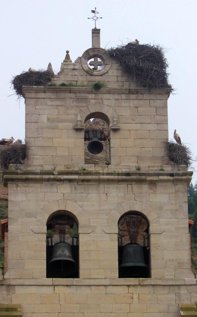 Storchennester in Belorado
