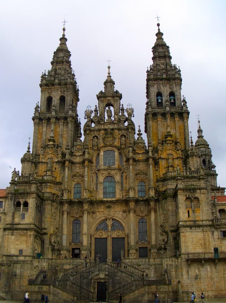 Kathedrale von Santiago de Compostella in Spanien