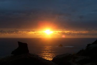 Sonnenuntergang in Finisterre