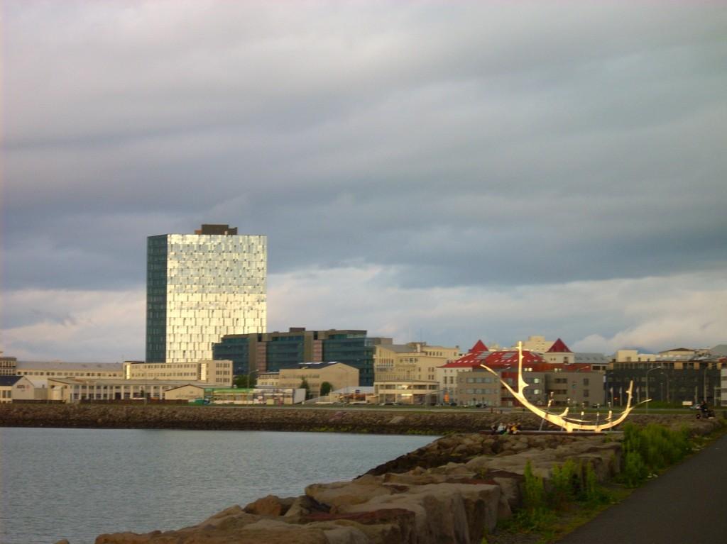 Promenade in Reykjavik