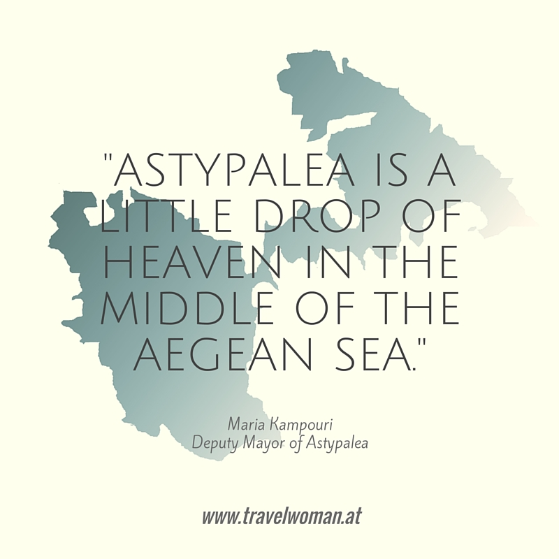 Astypalea is a little drop of heaven in the middle of the aegean sea.
