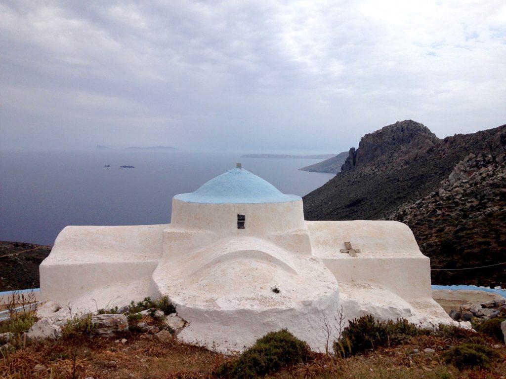 Kapelle beim früheren Kloster Agios Ioannis auf Astypalea