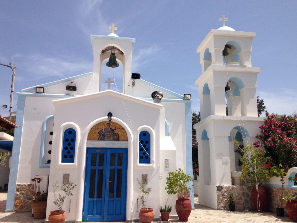 Kirche in Maltezana auf Astypalea