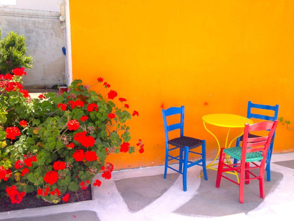 Astypalea: Bar in Maltezana