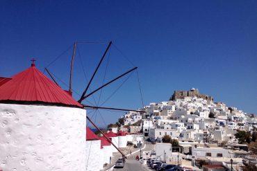 Astypalea: Windmühlen & Chora von Astypalea