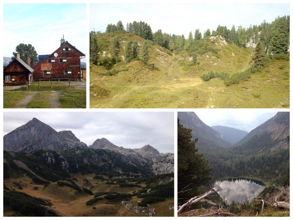 Ausblicke am Dachsteinrundwanderweg vom Stoderzinken zum Guttenberghaus