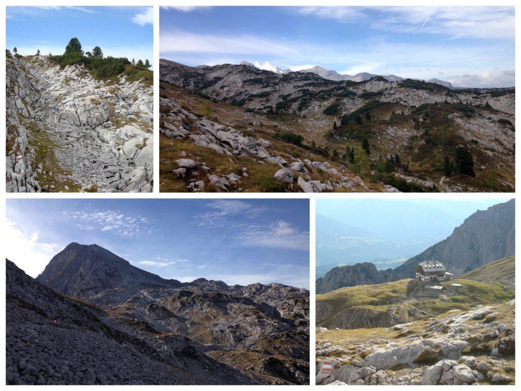 Wunderschöne Ausblicke am Dachsteinrundwanderweg