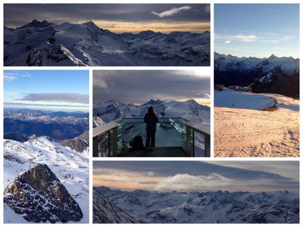 Bergausblicke in Zell am See-Kaprun vom Kitzsteinhorn und der Schmittenhöhe
