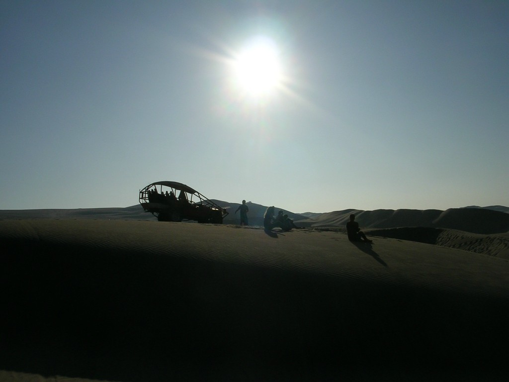 Huachachina: Ausflug in die Sanddünen