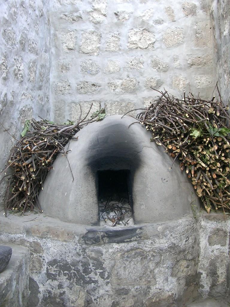 Arequipa: Lehmofen im Kloster Santa Catalina