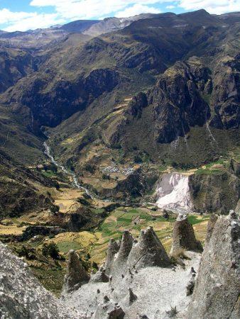 Ausblick ins Tal beim Cotahuasi Canyon