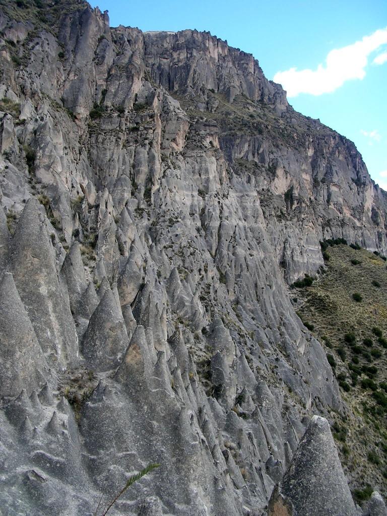 Steinwald bzw. Bosque de Piedras de Huito im Cotahuasi Canyon