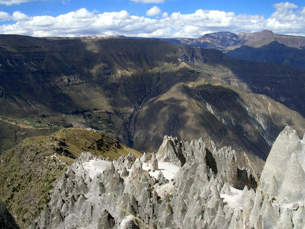 Bosque de Piedras de Huito, der Steinwald im Cotahuasi Canyon
