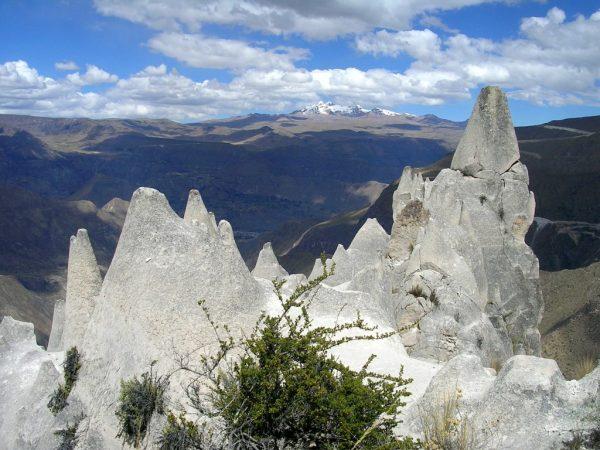 Steinformationen des Bosque de Piedras de Huito im Cotahuasi Canyon
