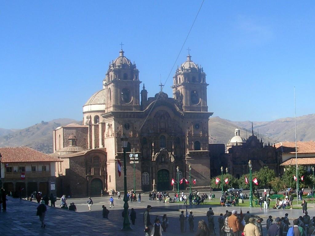 Hauptplatz in Cusco