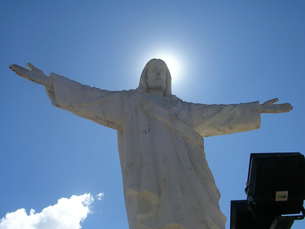 Christo Blanco (Jesusstatue) in Cusco