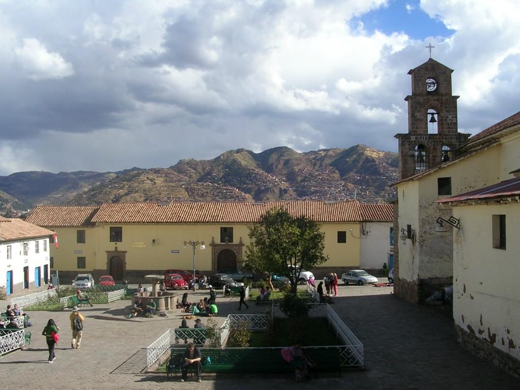 Platz in Cusco