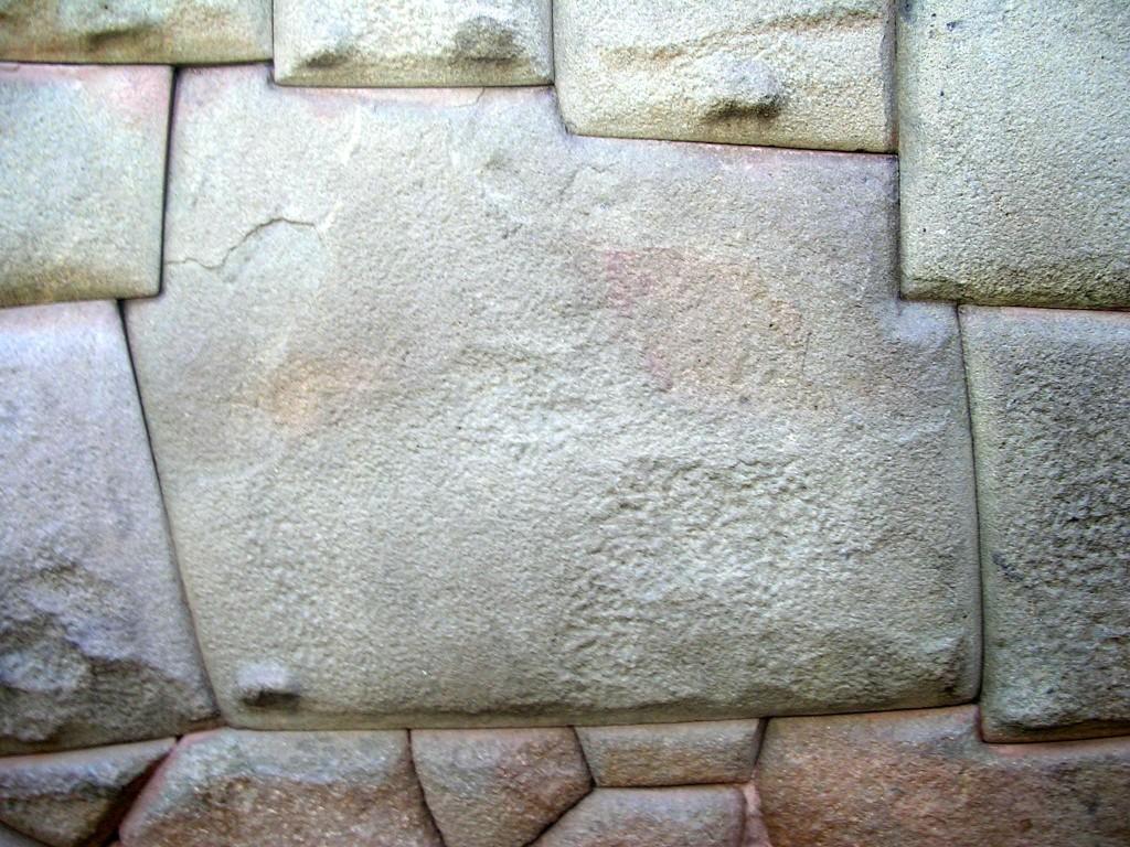 Zwölfeckige Stein (Piedra 12 Angulos) in Cusco