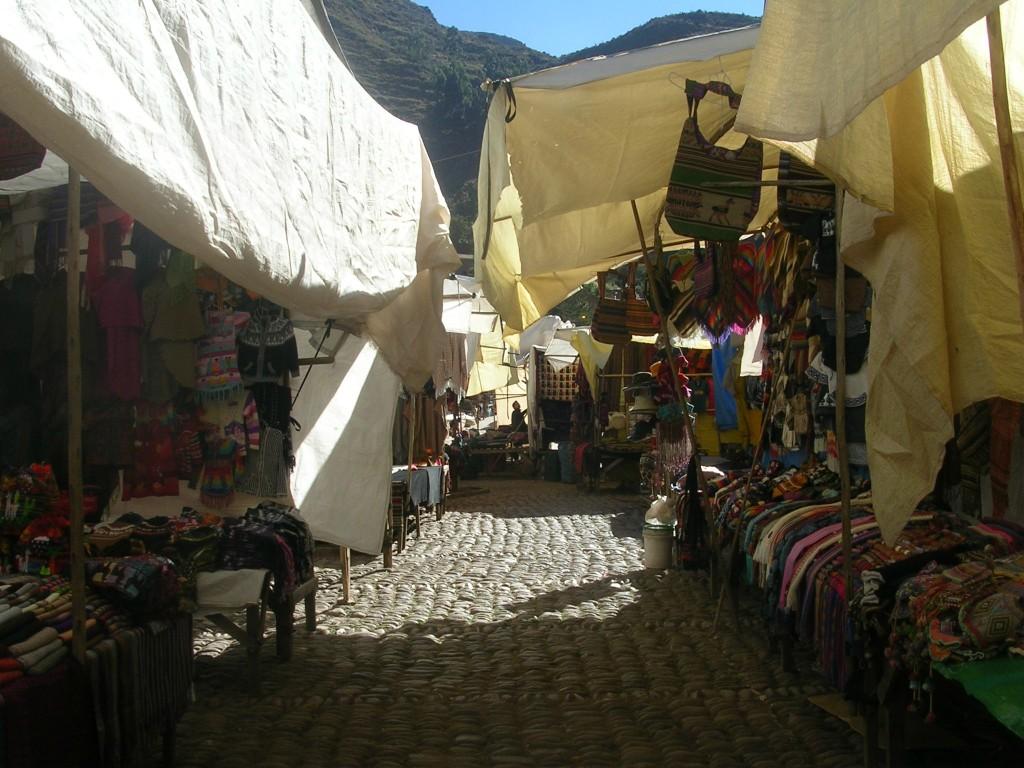 Markt in Pisaq