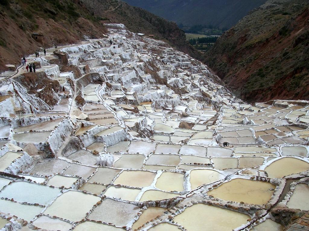 Salinas de Maras (Die Salzterrassen Maras)