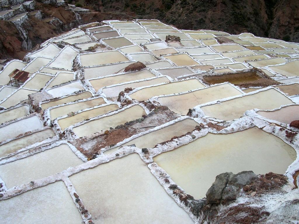 Salzterrassen in Maras
