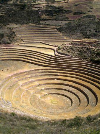 Moray (bei Maras) in Peru