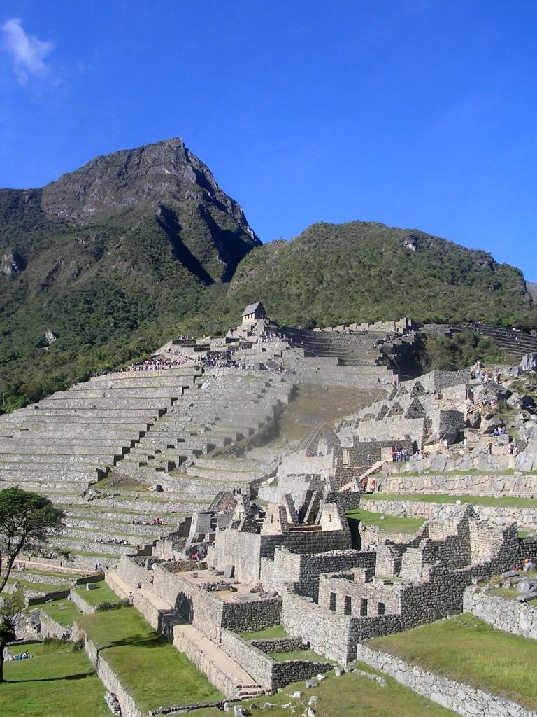 Inkaruinen von Machu Picchu