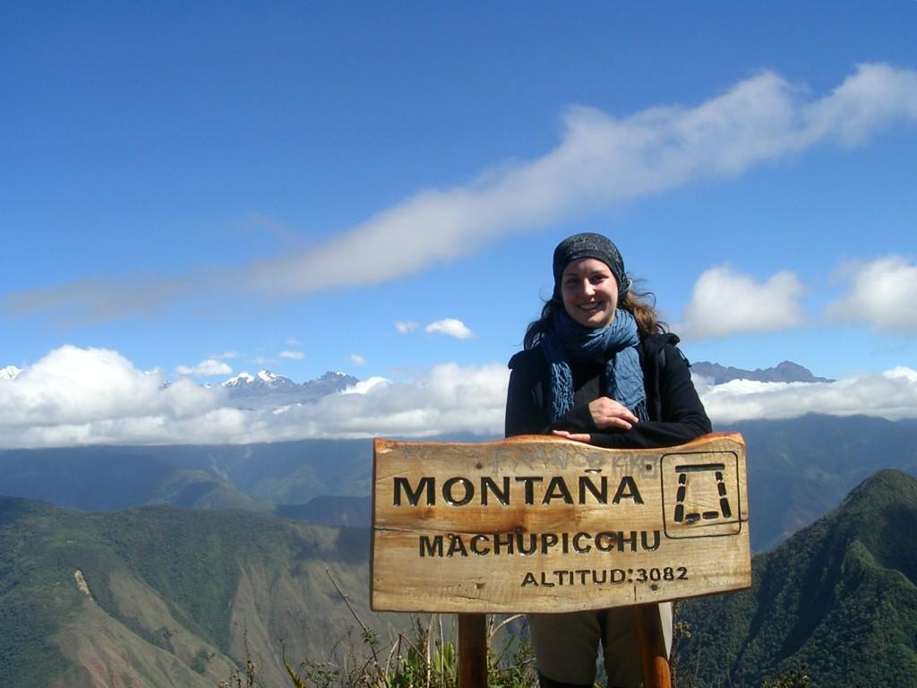 Ich am Montaña Machupicchu