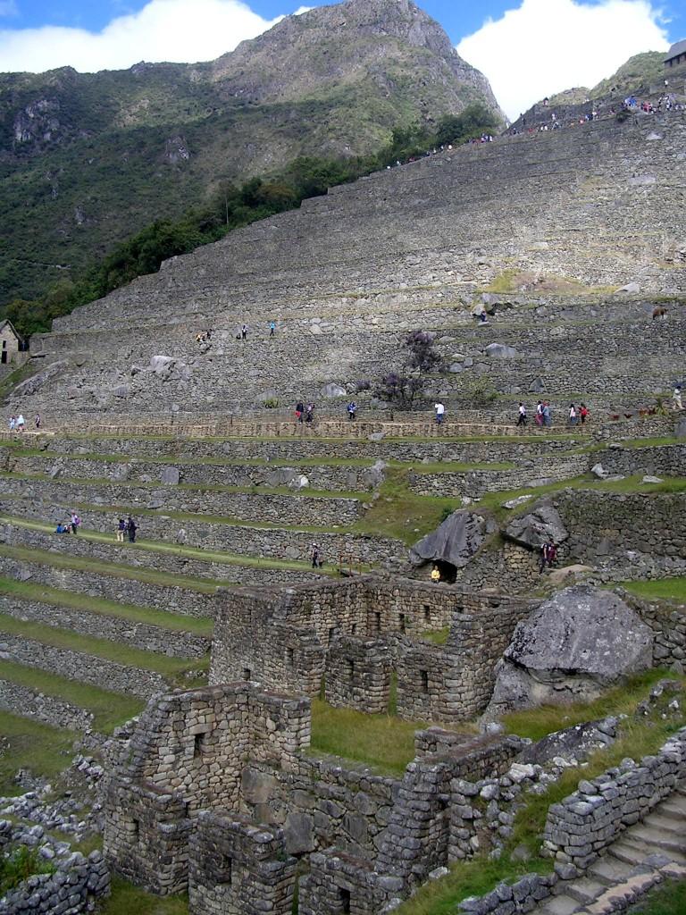 Inkaanlage von Machu Picchu