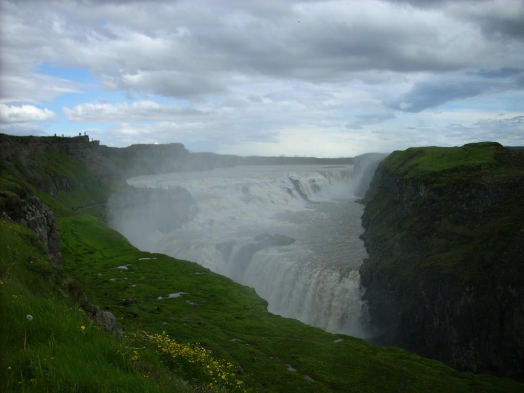 Gullfoss Wasserfall in Island
