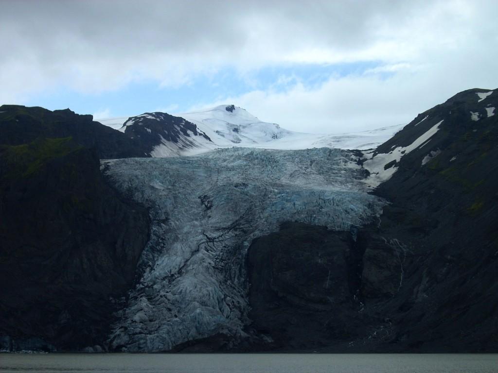 Gletscher am Weg nach Þórsmörk (Thorsmörk)