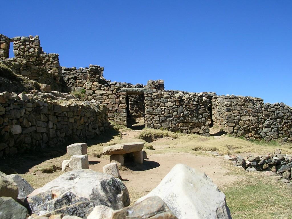 Ruinen auf der Isal del Sol