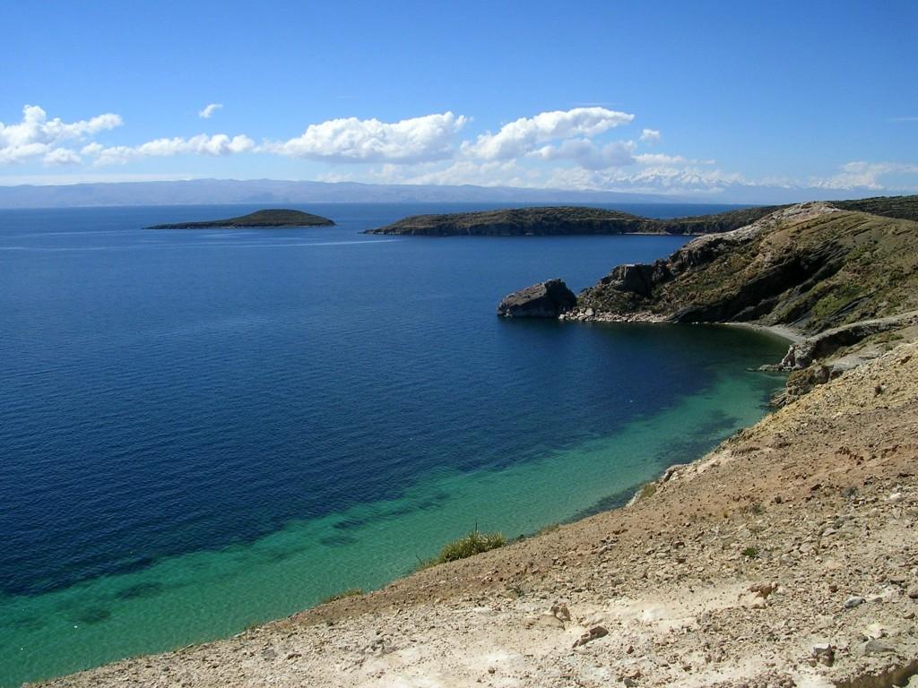 Bucht auf der Isla del Sol