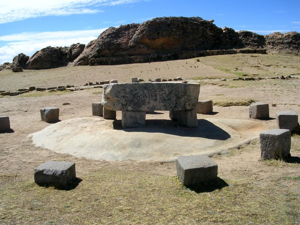 Ruinen auf der Isla del Sol