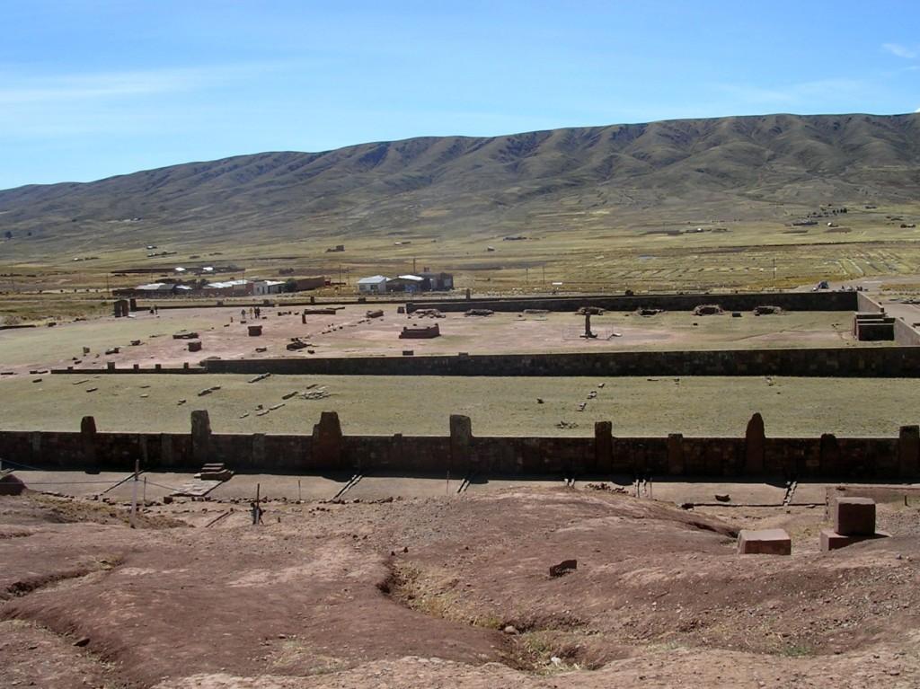 Prä-Inkastätte Tiwanaku in Bolivien