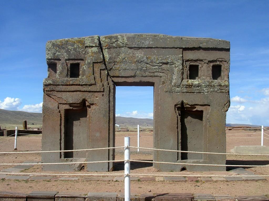 Torbogen der Sonne in Tiwanaku