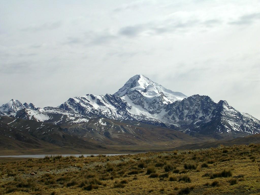 Ausblick vom Chacaltaya
