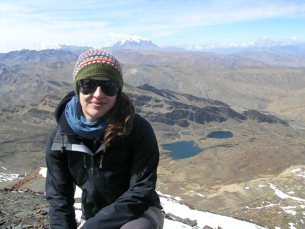 Ich am Gipfel des Chacaltaya