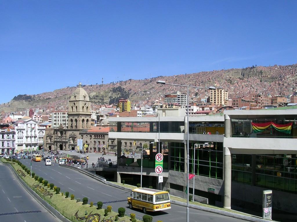 Im Zentrum von La Paz