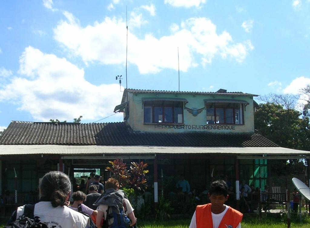 Flughafen in Rurrenabaque