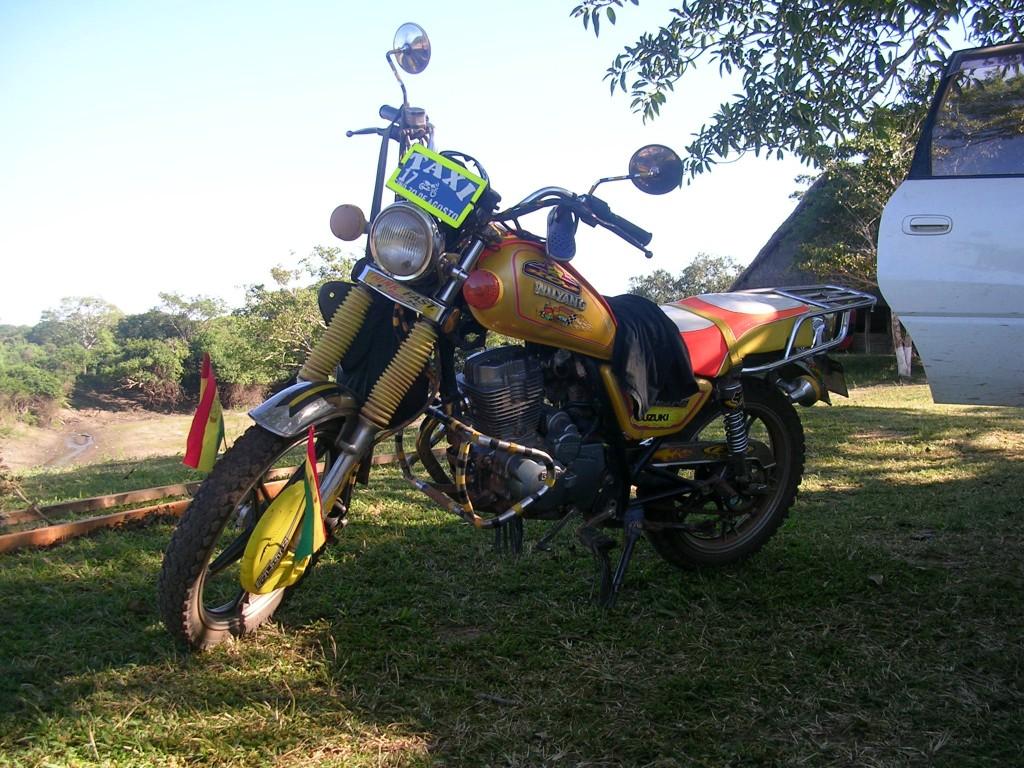 Motorrad in Rurrenabaque