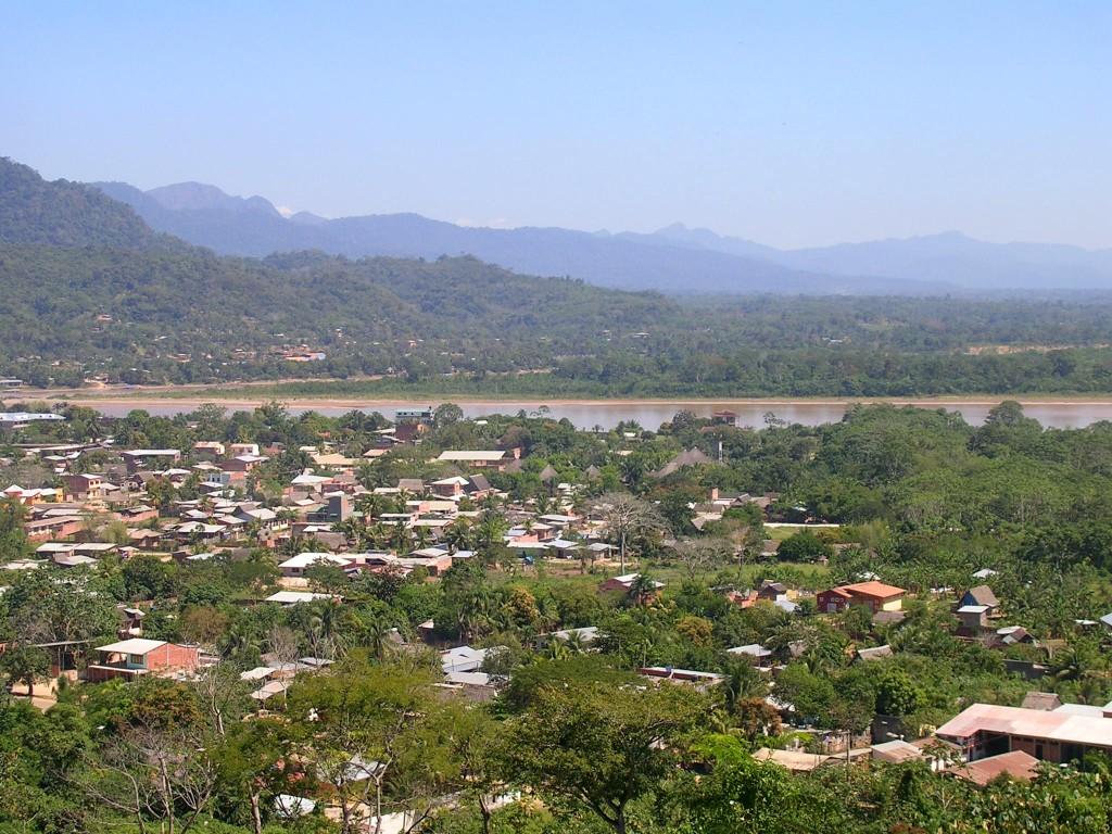Blick auf Rurrenabque von El Mirador