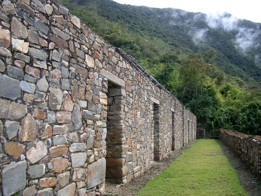 Inkahaus in Choquequirao