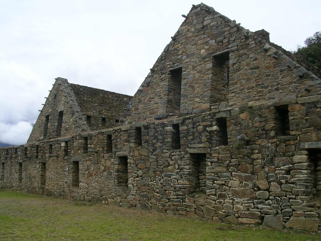 Inkahaus in Choquequriao
