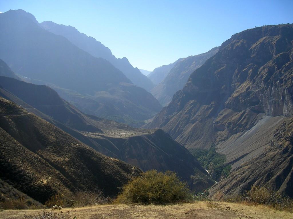 Ausblick im Colca Canyon
