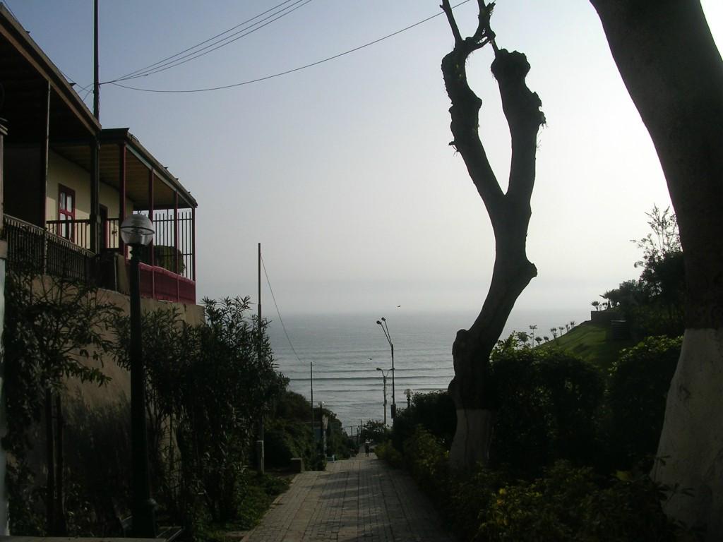Blick auf das Meer in Lima