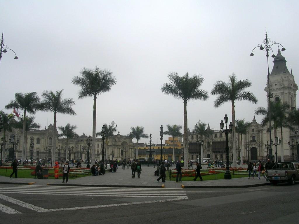 Hauptplatz in Lima