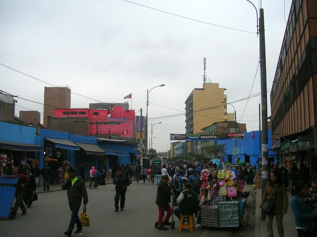 Straßenmärkte in Lima