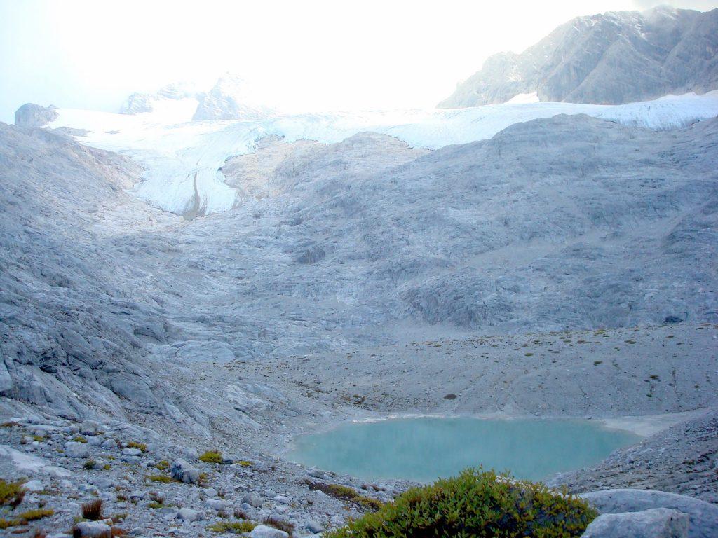 Im Gjaidkar mit Blick auf Hallstätter Gletscher