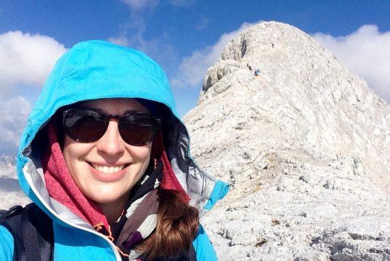 Vor dem Aufstieg auf den Kleinen Gjaidstein